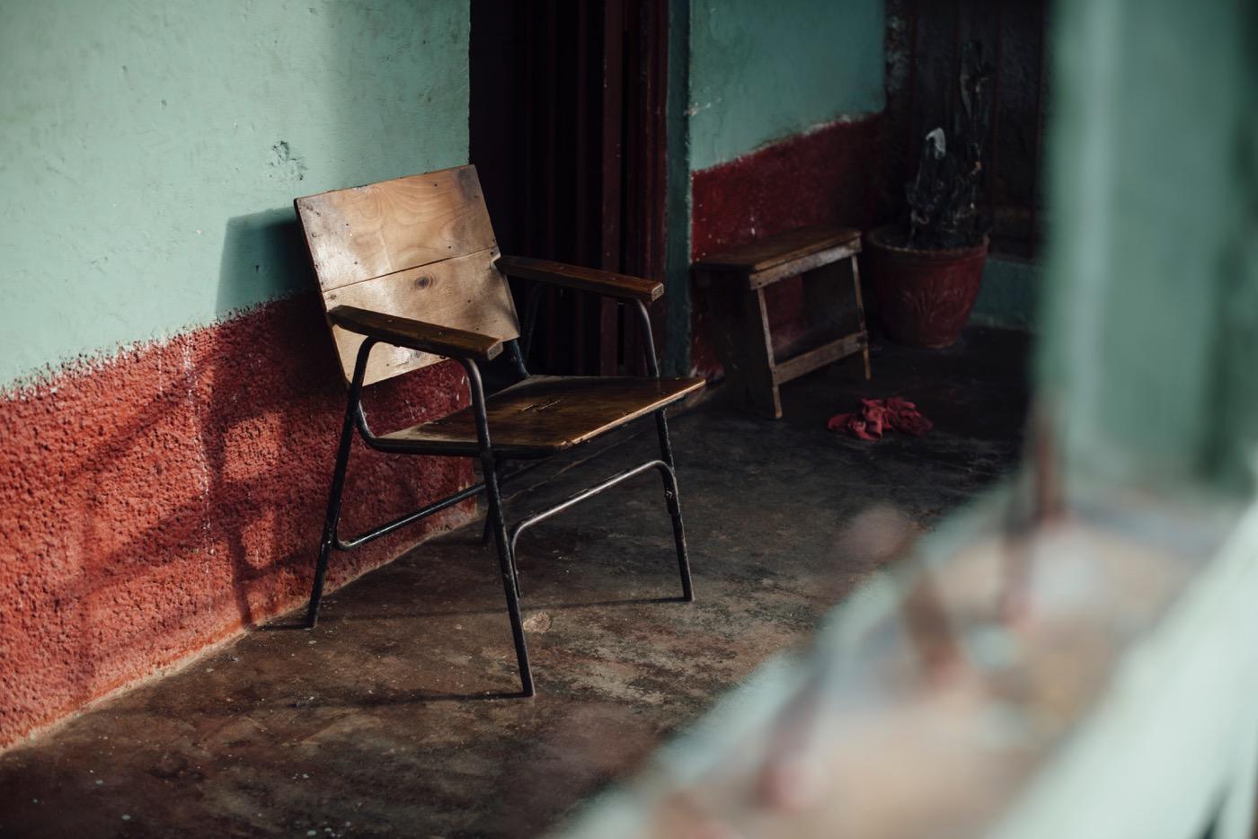トリニダーの夕暮れとキューバの静寂