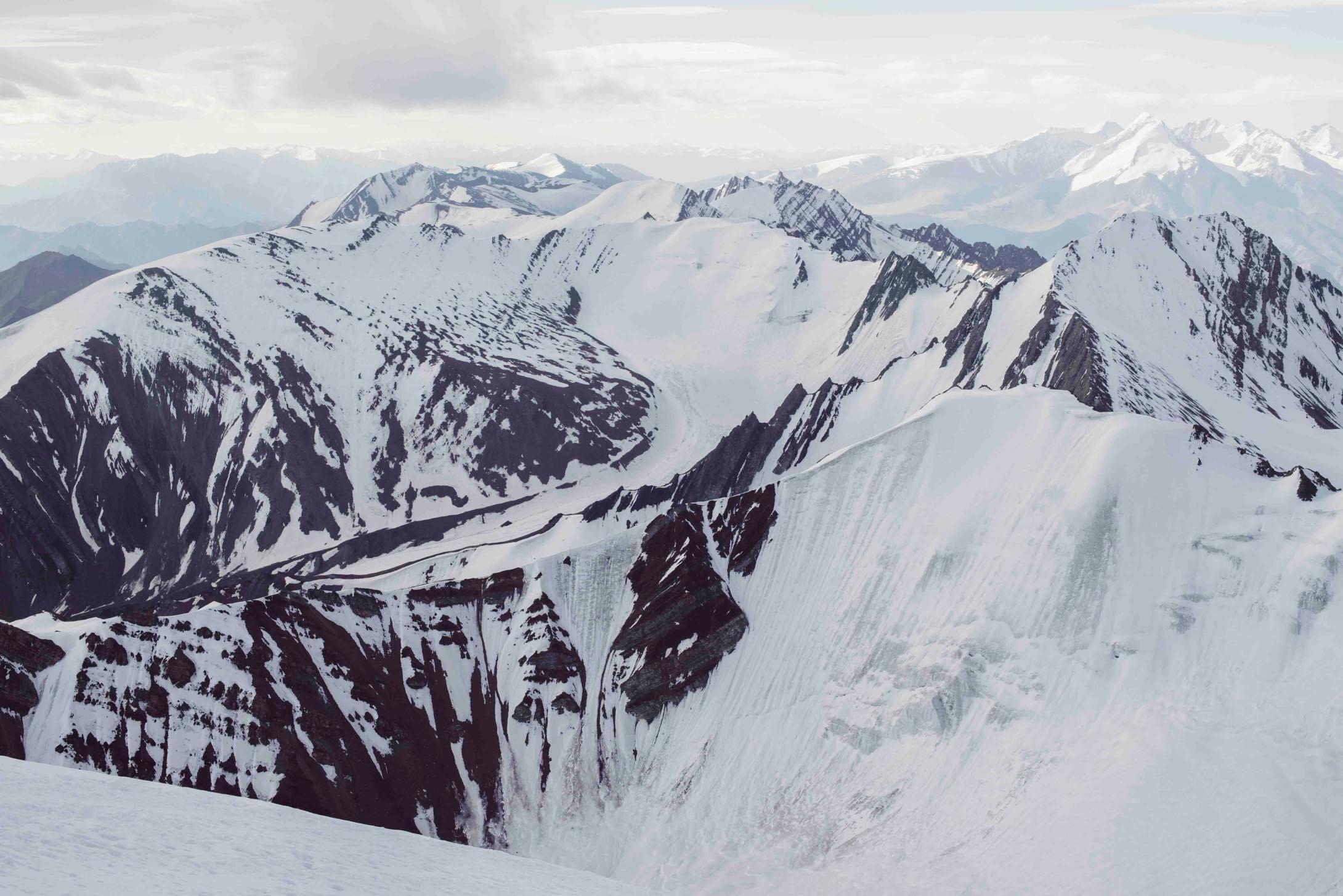 ラダックのストックカンリ山